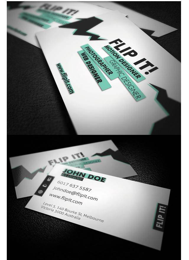 18 hot business cards