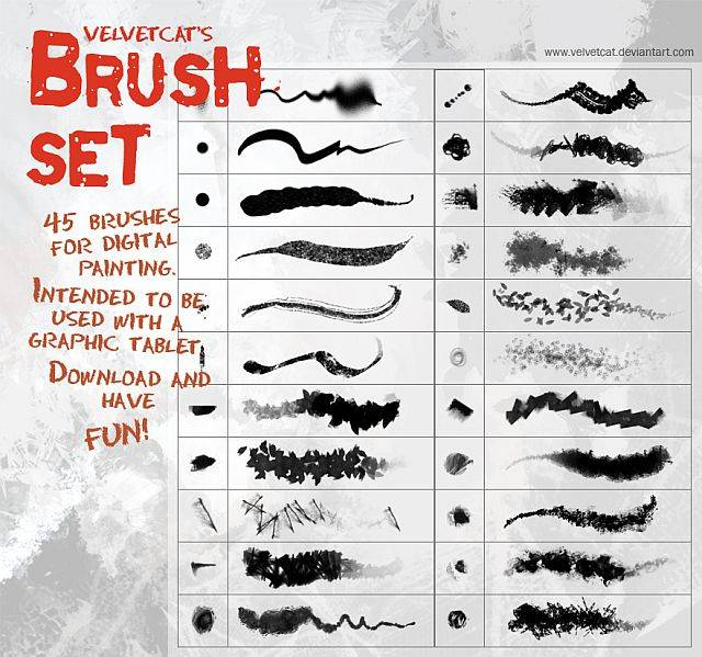 35 Outstanding Free Photoshop Brushes To Improve Your Work