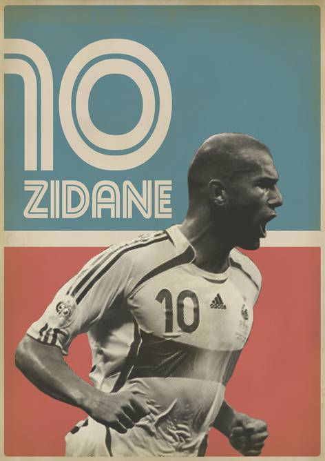 Are vintage football poster join