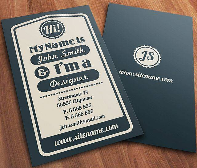 30 fresh hot business cards nox creative calling card reheart Images