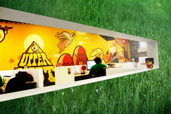 take a look inside some of the most famous advertising agencies advertising office design