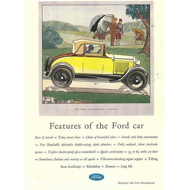 Ford as an Advertisement Legend - 61 Vintage Ads