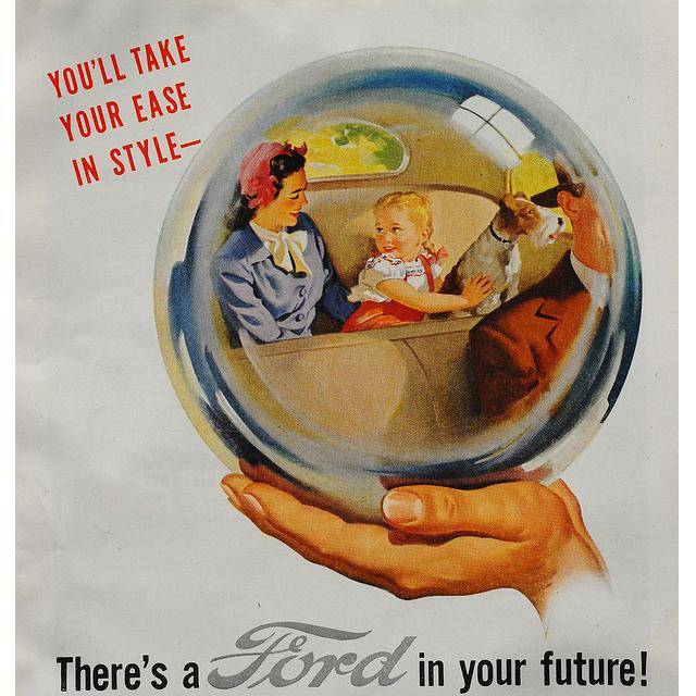 Ford As An Advertisement Legend 61 Vintage Ads