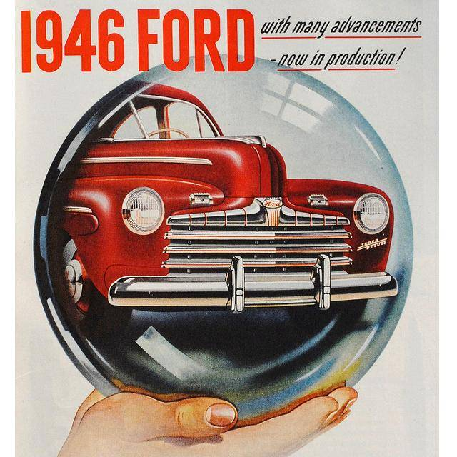 Ford ...  sc 1 st  Neat Designs & Ford as an Advertisement Legend - 61 Vintage Ads markmcfarlin.com