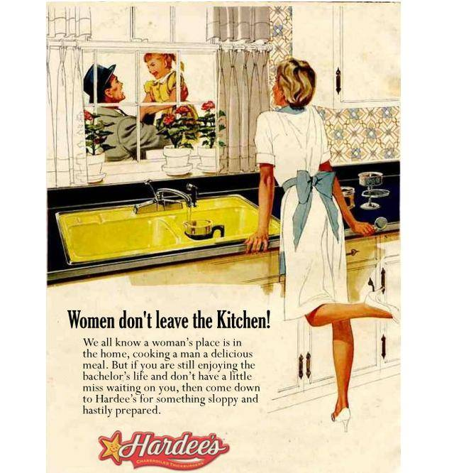 Retro Woman In Kitchen: 35 Extremely Sexist Ads That You Should See
