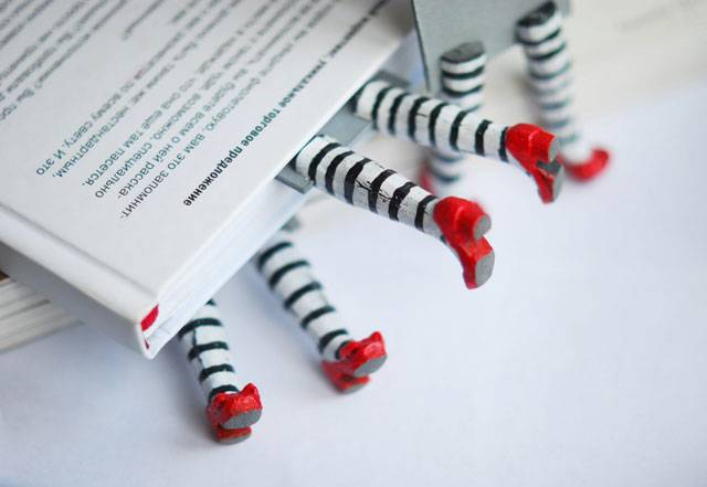 55 funny unique bookmark designs - Bookmark Design Ideas