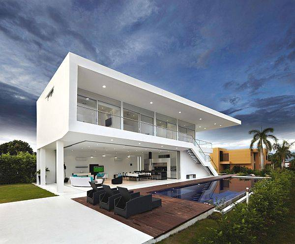 31 unique beautiful architectural house designs for Beach architecture design