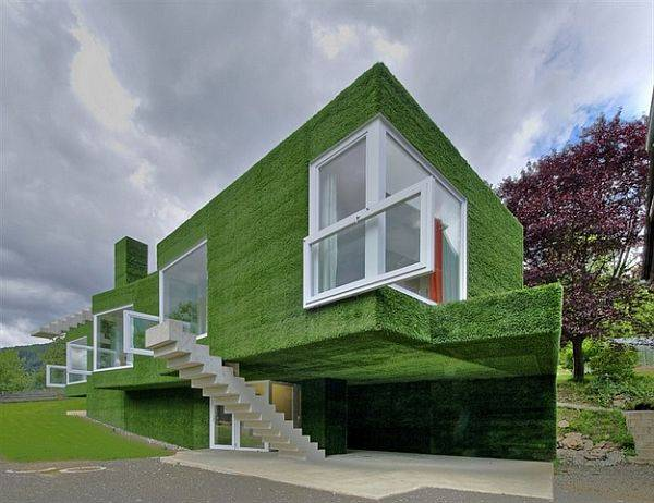 31 unique beautiful architectural house designs for Creative house designs