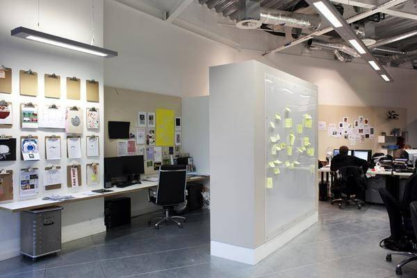 Inside their world 18 top cool agency interior designs for Product design agency