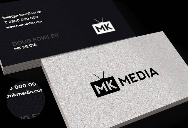 30 outstanding black business cards letterpress calling cards reheart Images
