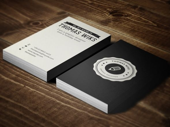 15 awesome business cards examples great free resources